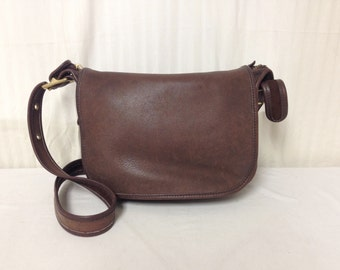 Coach, brown leather purse,bag,Patricia ,9951 ,brown leather,Coach USA,Shoulder Bag