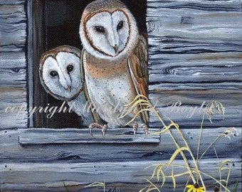 CUSTOM ORDER - PAINTINGS; 8 x 10 inch acrylic paintings, wildlife, nature, wilderness, animals, birds, Canadian art