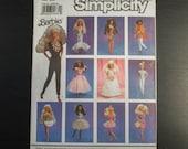 1990 Simplicity 7046 Barbie Clothes Pattern