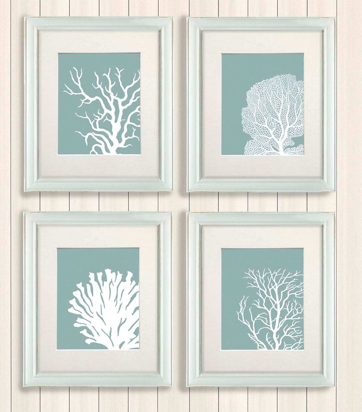 Bathroom Framed Wall Art Popular Items For Green Wall Art On Etsy