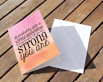 Sympathy Card - Condolences Greeting Card - I'm Sorry Card - Grief Support - Bereavement