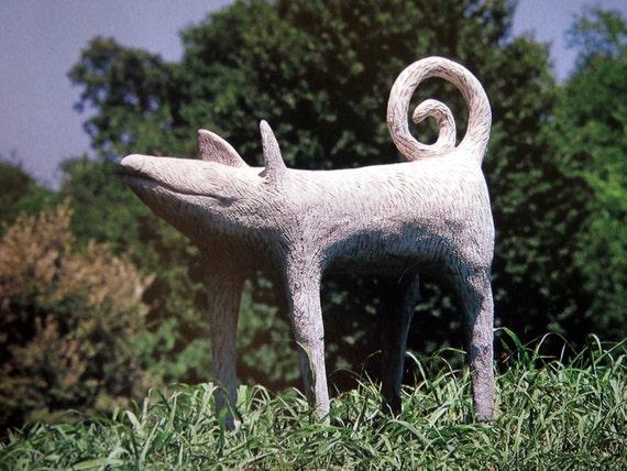 Cr ation avec art b ton yard sculpture projets jardin par for Art jardin creation