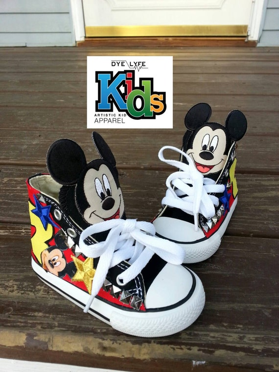 c051429e39e1 Mickey Mouse Converse For Toddlers