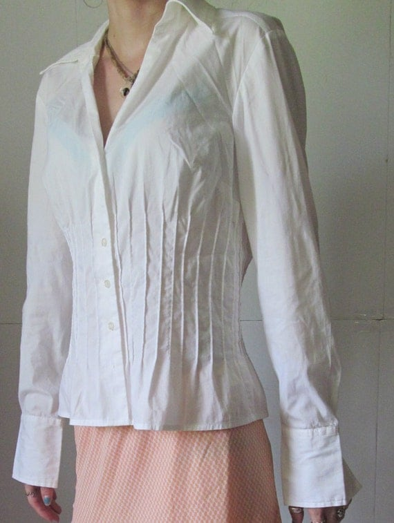 White Blouse Loft 17