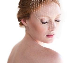 Darla bird cage veil