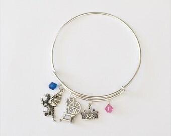 Sleeping Beauty Inspired Bracelet