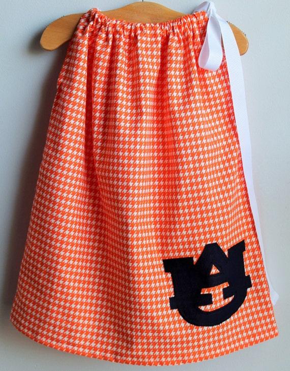 Auburn University Toddler Dress Auburn by EllieCourtDesigns