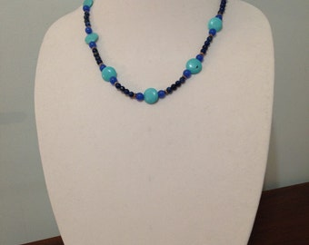 Blue & Turquoise Necklace