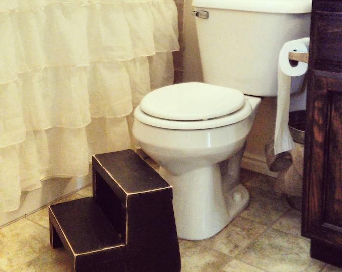 Childrens step stool - Potty Steps - Step Stool