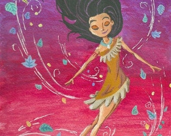 ORIGINAL Pocahontas painting