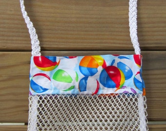 Seashell Bag Beach Balls