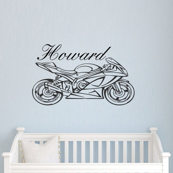 Wall Art Stickers Custom : Wall decal name personalized custom decals vinyl sticker art