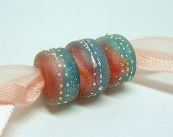 SRA Handmade Lampwork Beads - Boy Meets Girl