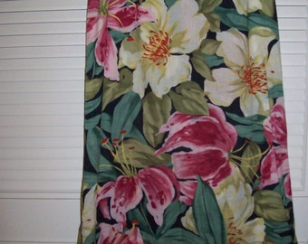 Island Floral Harold's Maxi  Size 6  Summer Garden Skirt