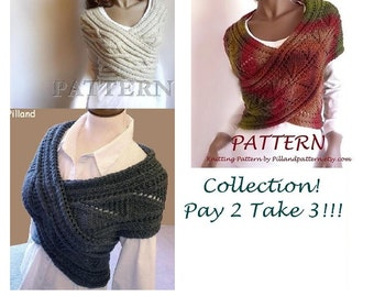 Knitting Pattern Cable Knit Cowl Vest : Knitting Pattern Cabled Sweater Pattern Cowl Vest Sweater
