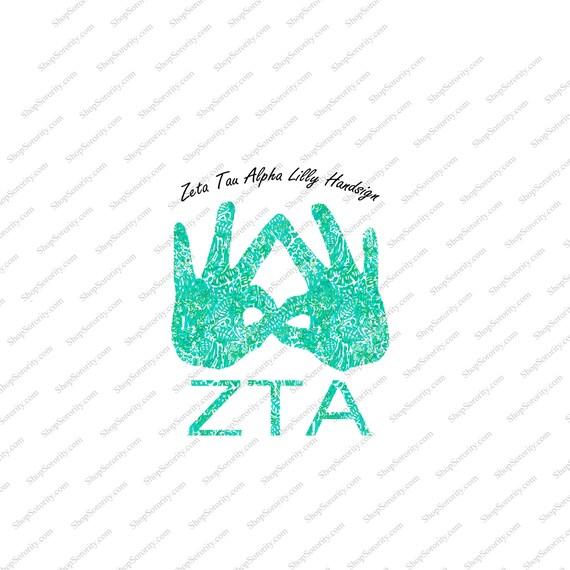 Zeta Tau Alpha Lilly P...