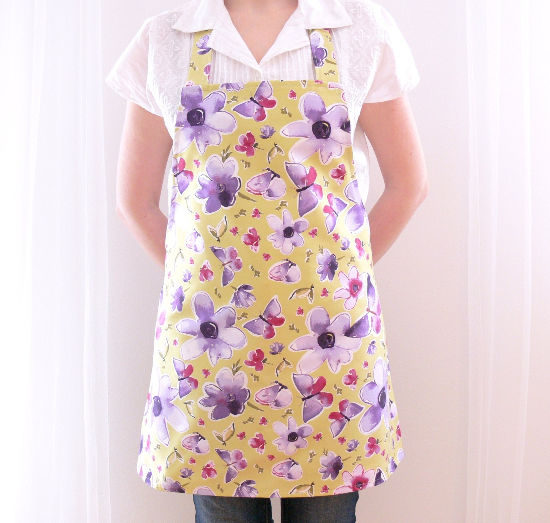 womens aprons aprons for women retro apron full kitchen. Black Bedroom Furniture Sets. Home Design Ideas