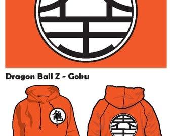Dragonball Z Goku hoodie