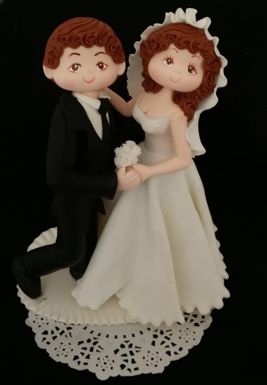 Wedding Cake Topper Bride Groom Dancing Cake Topper Wedding