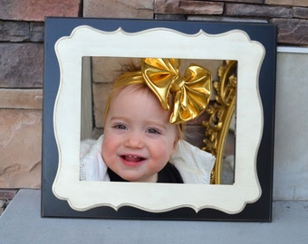 16x20 Whimsical Double Stacked  Picture Frame....You choose Colors