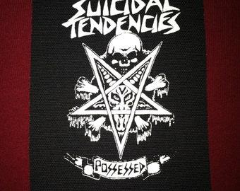 Suicidal Tendencies Cloth Punk Patch