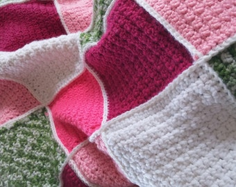 Beautiful patch work afghan