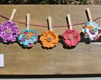 Cute Doggie Flowers for Collars