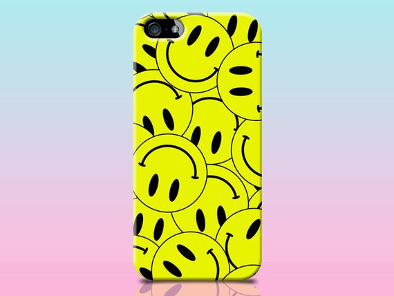 Smiley face iphone case 90s rave acid shirt by for 90s acid rave