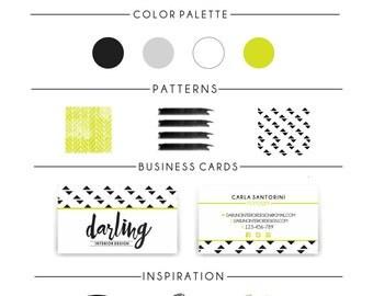 Custom Logo Design and Business Branding Package - Logo Design - Custom Marketing Set - Photography Branding Package - With business card