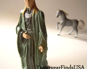 Celeborn elven toy figurine, Tolkien character, Lord of the Rings, fantasy cake topper, elven, diorama, miniatures, husband of Galadriel