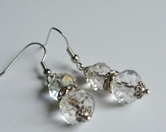 Wedding Earrings, Crystal Earrings,Wedding Jewelry, Accessories, Dangle Earrings, Earrings, Hypo Allergenic Earrings