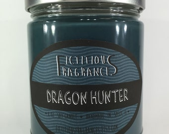 Dragon Hunter -- 8oz Scented Soy Candle