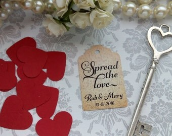 Spread the Love. Personalized Favor Tags. Jam Wedding Favor Tags. Party Jam Labels. Set of 25 to 300 pieces, Custom Language available.
