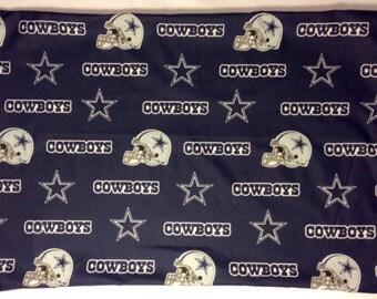 1 Set- Dallas Cowboys- Cotton Pillowcases
