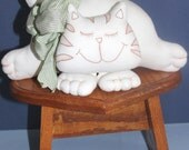 Cat shelf-sitter or decoration gift for the cat lover