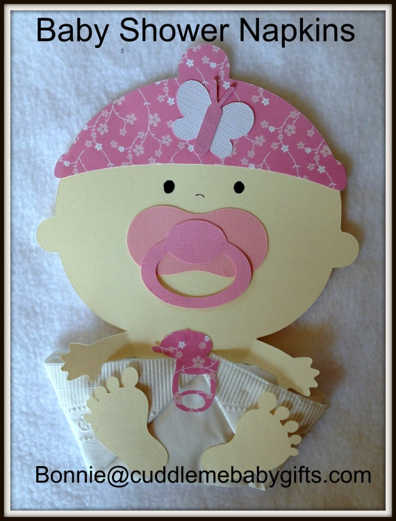 baby shower baby girl baby cap baby shower napkins and baby shower