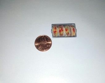 1:12 Scale Dollhouse Miniature Tacos,