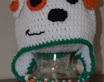 Crochet Bubble Puppy Hat, Bubble Guppy Hat, Bubble Guppies Puppy Hat, Crochet Puppy Hat, Crochet Bubble Guppies Hat, Bubble Guppies Hat