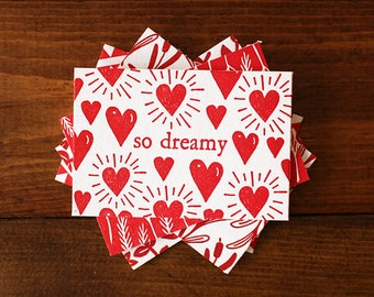 Mini Love Notes, Mixed Set of 6
