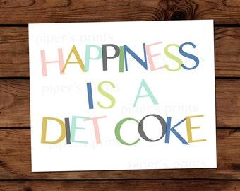 8x10 Print - Diet Coke