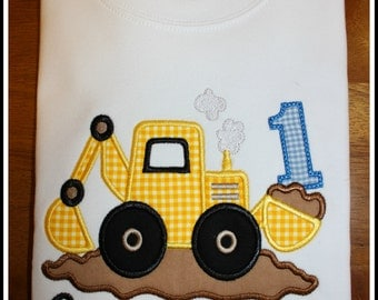 Construction 1st Birthday Shirt