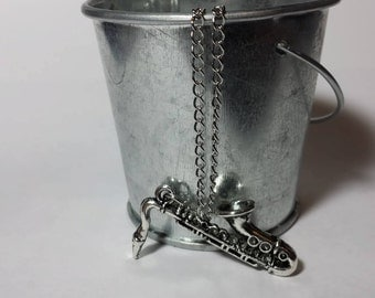 Saxophone Necklace