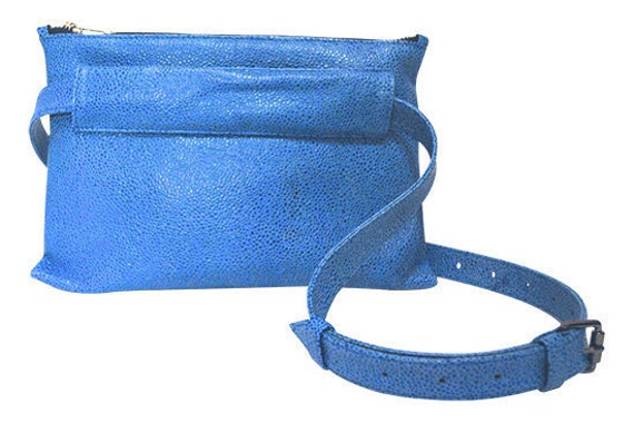 ... Pebbled, Leather, Pouch Fanny Pack, Hip Bag, Belt Bag, Bum Bag, Clutch