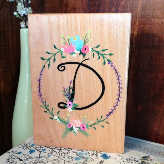Rustic Monogram Wall Decor : Items similar to custom monogram sign rustic wall