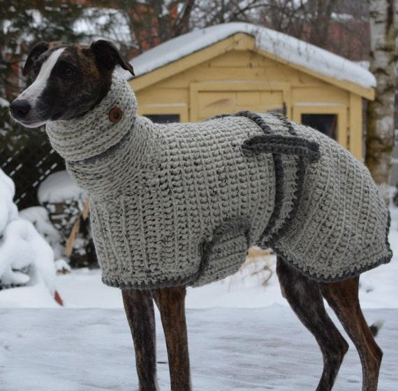 Greyhound Jumper Greyhound Sweater Greyhound Coat Sighthound