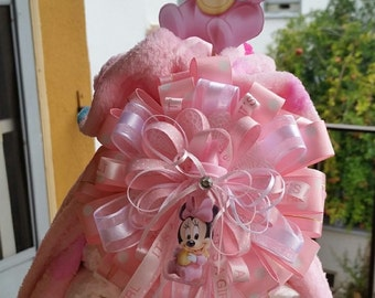 Baby Minnie Mouse Diaper Wrap