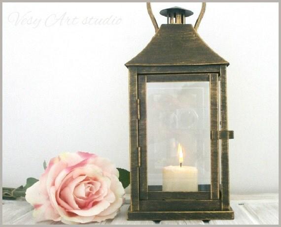 Items Similar To Rustic Lantern Wedding Lighting Lantern