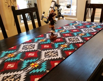 Southwestern Colorful Table Runner.