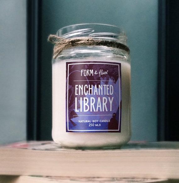 Enchanted Library - Jam Jar Candle