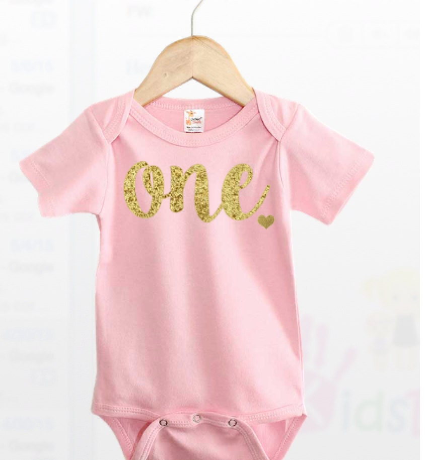 First Birthday Outfit For Girl First Birthday Girl One